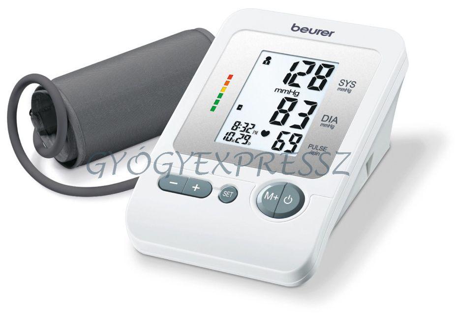 Felkaros automata vérnyomásmérő BEURER BM 26