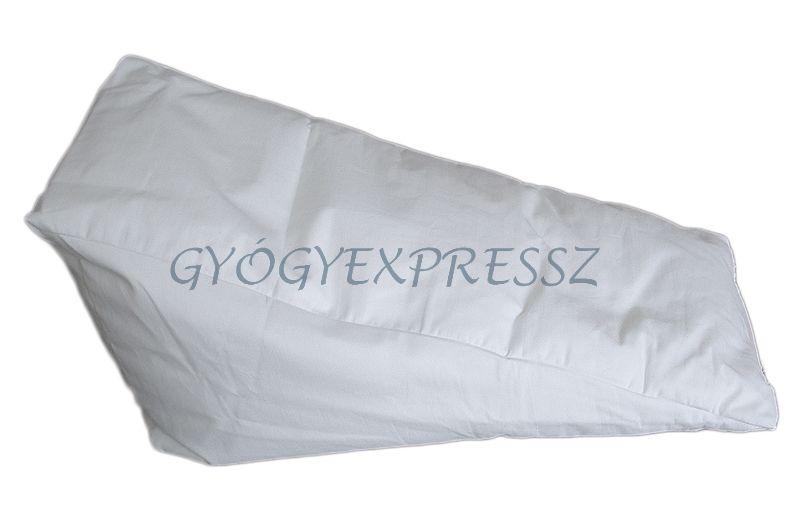 Lábtámasz, végtagrögzítő ékpárna - antiallergén S2L (44x22x22 cm)