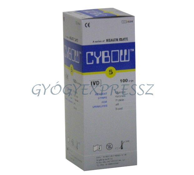 CYBOW 5 Vizelet tesztcsík 100db (MG 4395)