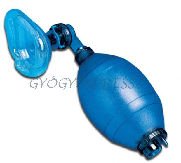 Lélegeztető ballon + maszk felnőtt SINGLE (MG 13405)
