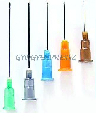 Injekcióstű egyszerhasználatos 100 db