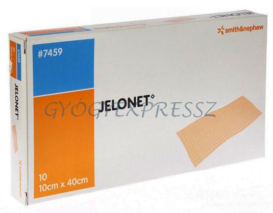 JELONET steril, paraffinos tüllhálós gézlap 10db
