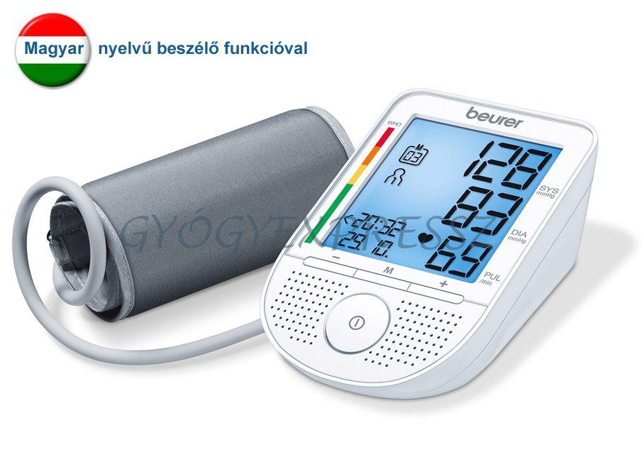 Felkaros Vérnyomásmérő-Beszélő funkcióval BEURER BM 49