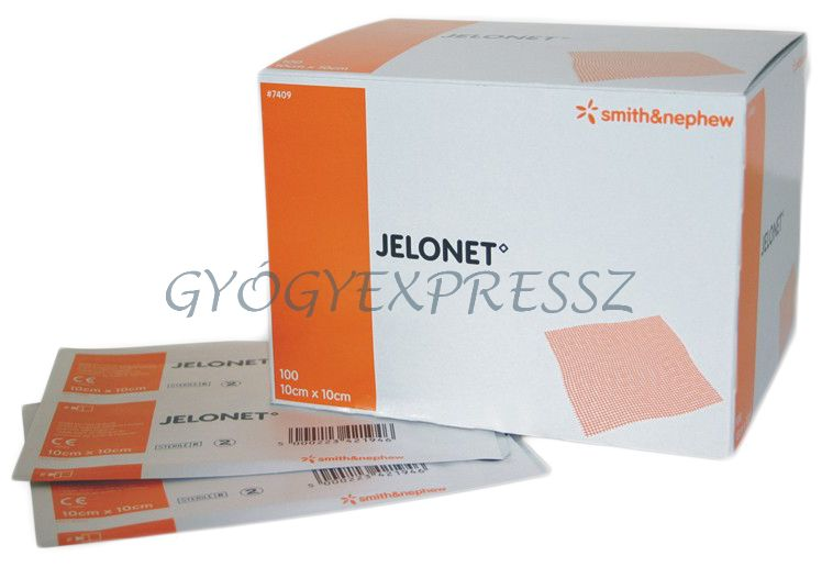 JELONET steril, paraffinos tüllhálós gézlap 100db