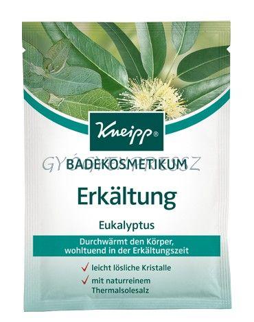 KNEIPP SZABAD LÉGUTAK eukaliptuszos fürdőkristály 60g