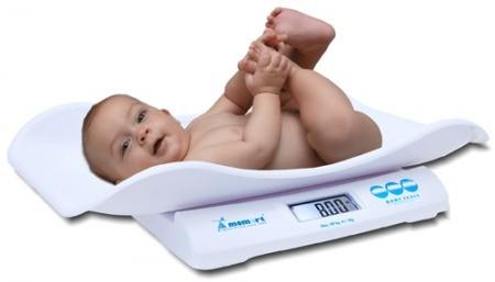Csecsemőmérlegek