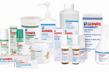 GEHWOL ápoló termékek